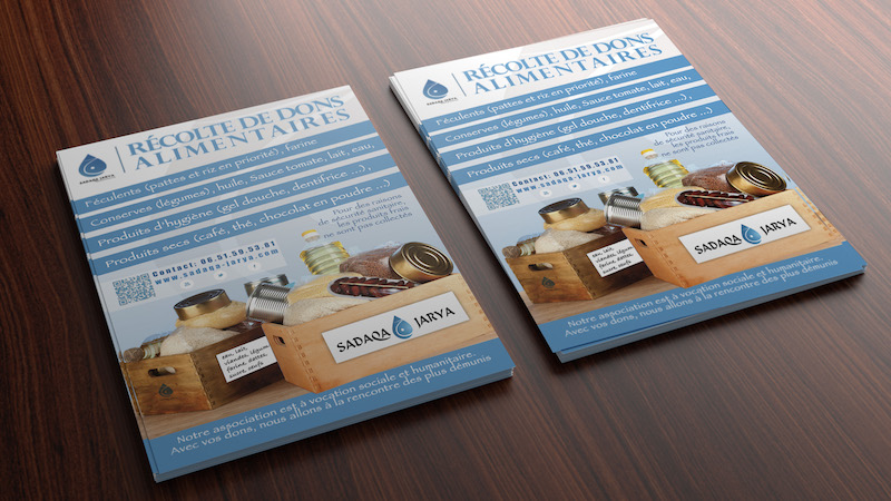 flyer dons alimentaires