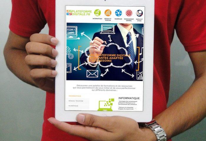 site internet plateforme digitale