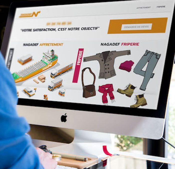 Conception d'un site web pour une société de transport